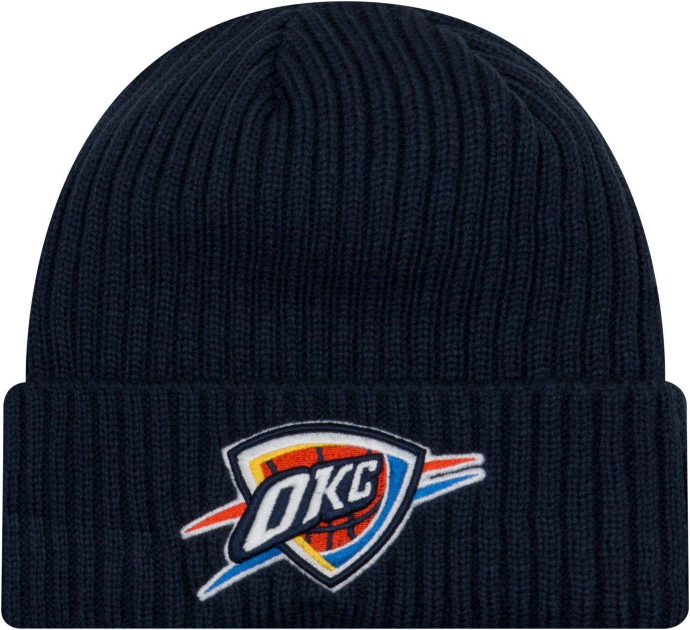 New Era Men's Oklahoma City Thunder Core Classic Knit Hat