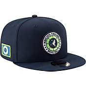New Era Men's Minnesota Timberwolves 9Fifty On-Court Adjustable Snapback Hat