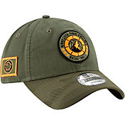 New Era Men's Minnesota Timberwolves 9Twenty On-Court Camo Adjustable Hat