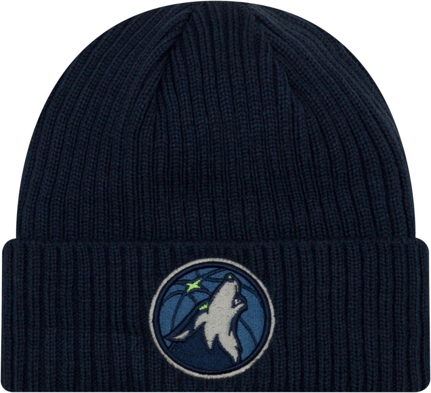 New Era Men's Minnesota Timberwolves Core Classic Knit Hat