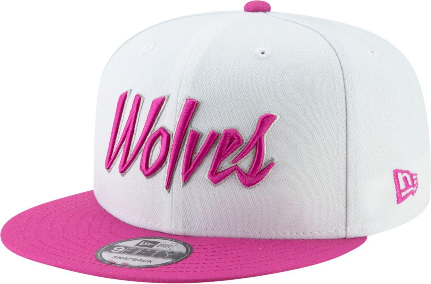 New Era Men's Minnesota Timberwolves 9Fifty Earned Edition Adjustable Snapback Hat