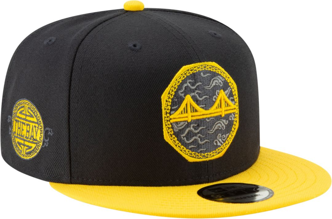 trampki hurtownia online świeże style New Era Men's Golden State Warriors 9Fifty City Edition Adjustable Snapback  Hat