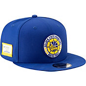 New Era Men's Golden State Warriors 9Fifty On-Court Adjustable Snapback Hat