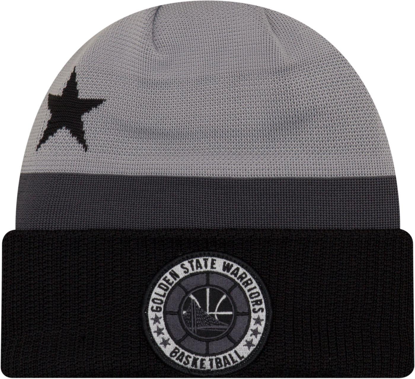 New Era Men's Golden State Warriors On-Court Knit Hat