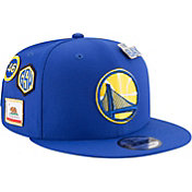 New Era Men's Golden State Warriors 2018 NBA Draft 9Fifty Adjustable Snapback Hat