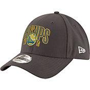 New Era Men's 2018 NBA Champions Golden State Warriors 9Forty Grey Adjustable Hat