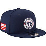 New Era Men's Washington Wizards 9Fifty On-Court Adjustable Snapback Hat