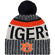 New Era Men's Auburn Tigers Blue Sport Knit Beanie