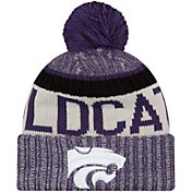 New Era Men's Kansas State Wildcats Purple Sport Knit Beanie