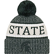 New Era Men's Michigan State Spartans Green Sport Knit Beanie