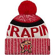 New Era Men's Maryland Terrapins Red Sport Knit Beanie