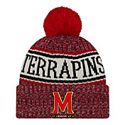New Era Men's Maryland Terrapins Red Sport Knit Beanie