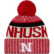 New Era Men's Nebraska Cornhuskers Scarlet Sport Knit Beanie