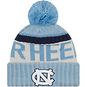 New Era Men's North Carolina Tar Heels Carolina Blue Sport Knit Beanie