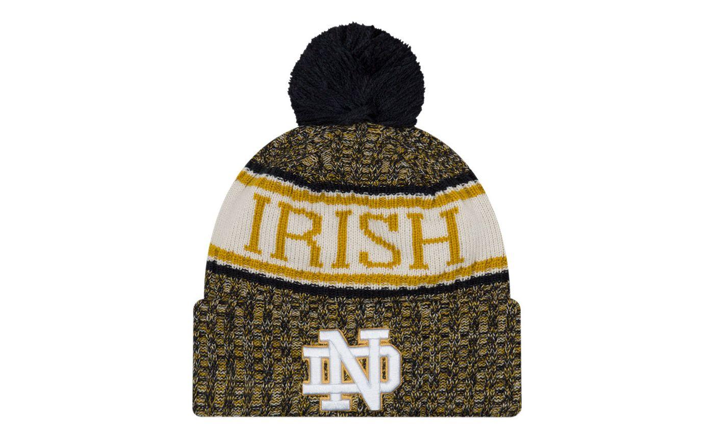 New Era Men's Notre Dame Fighting Irish Navy Sport Knit Beanie