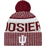 New Era Men's Indiana Hoosiers Crimson Sport Knit Beanie