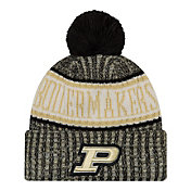 New Era Men's Purdue Boilermakers Sport Knit Black Beanie