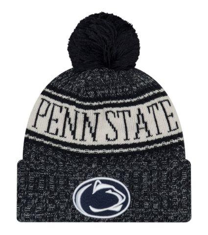 3ab532efebc New Era Men s Penn State Nittany Lions Blue Sport Knit Beanie. noImageFound
