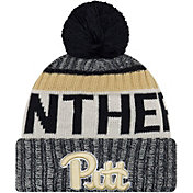 New Era Men's Pitt Panthers Blue Sport Knit Beanie