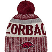 New Era Men's Arkansas Razorbacks Cardinal Sport Knit Beanie