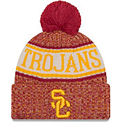 New Era Men's USC Trojans Cardinal Sport Knit Beanie