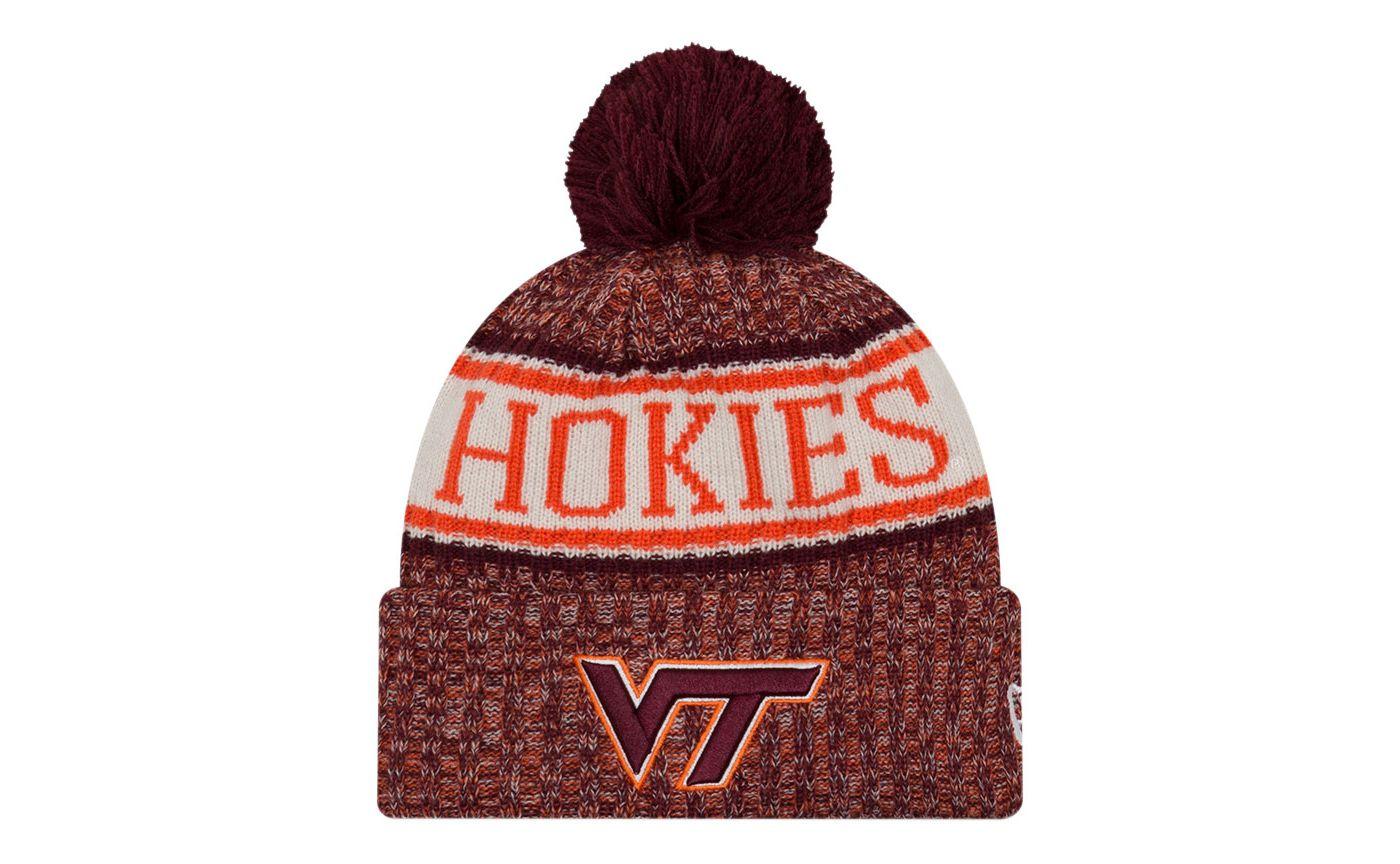 New Era Men's Virginia Tech Hokies Maroon Sport Knit Beanie