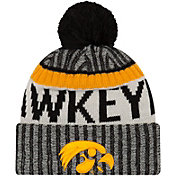 New Era Men's Iowa Hawkeyes Sport Black Knit Beanie