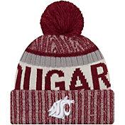 New Era Men's Washington State Cougars Crimson Sport Knit Beanie