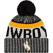 New Era Men's Wyoming Cowboys Brown Sport Knit Beanie