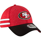 New Era Men's San Francisco 49ers Sideline Home 39Thirty Red Stretch Fit Hat