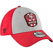 New Era Men's San Francisco 49ers Sideline Road 39Thirty Stretch Fit Hat