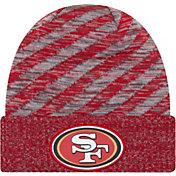 New Era Men's San Francisco 49ers Sideline Cold Weather TD Red Knit