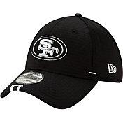 New Era Men's San Francisco 49ers Sideline Training Camp 39Thirty Stretch Fit Black Hat