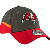 New Era Men's Tampa Bay Buccaneers Sideline Home 39Thirty Black Stretch Fit Hat