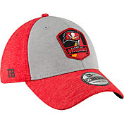 New Era Men's Tampa Bay Buccaneers Sideline Road 39Thirty Stretch Fit Hat