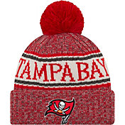 New Era Men's Tampa Bay Buccaneers Sideline Cold Weather Red Sport Knit