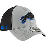 New Era Men's Buffalo Bills 2Tone-Sided Graphite Stretch-Fit Hat