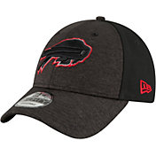 New Era Men's Buffalo Bills Shaded Front 9Forty Black Adjustable Hat