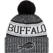 New Era Men's Buffalo Bills Sideline Cold Weather Reverse Black Sport Knit