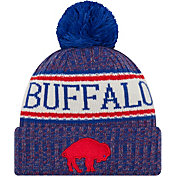 New Era Men's Buffalo Bills Sideline Cold Weather Blue Sport Knit
