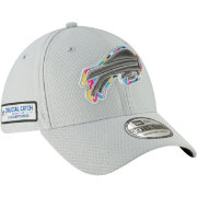 New Era Men's Crucial Catch Buffalo Bills Sideline 39Thirty White Stretch Fit Hat