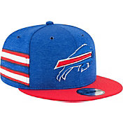 New Era Men's Buffalo Bills Sideline Home 9Fifty Blue Adjustable Hat
