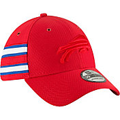 New Era Men's Buffalo Bills Sideline Color Rush 39Thirty Red Stretch Fit Hat