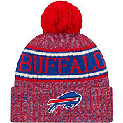 New Era Men's Buffalo Bills Sideline Cold Weather Reverse Red Sport Knit
