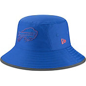 New Era Men's Buffalo Bills Sideline Training Camp Blue Bucket Hat
