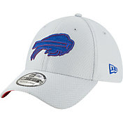 New Era Men's Buffalo Bills Sideline Training Camp 39Thirty Grey Stretch Fit Hat