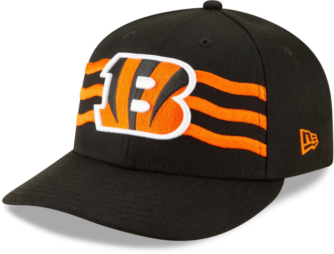 New Era Men's Cincinnati Bengals 2019 NFL Draft 59Fifty Fitted Black Hat