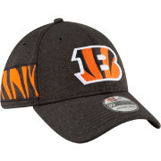 New Era Men's Cincinnati Bengals Sideline Home 39Thirty Black Stretch Fit Hat