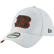 New Era Men's Cincinnati Bengals Sideline Training Camp 39Thirty Grey Stretch Fit Hat