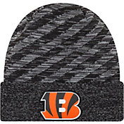 New Era Men's Cincinnati Bengals Sideline Cold Weather TD Black Knit